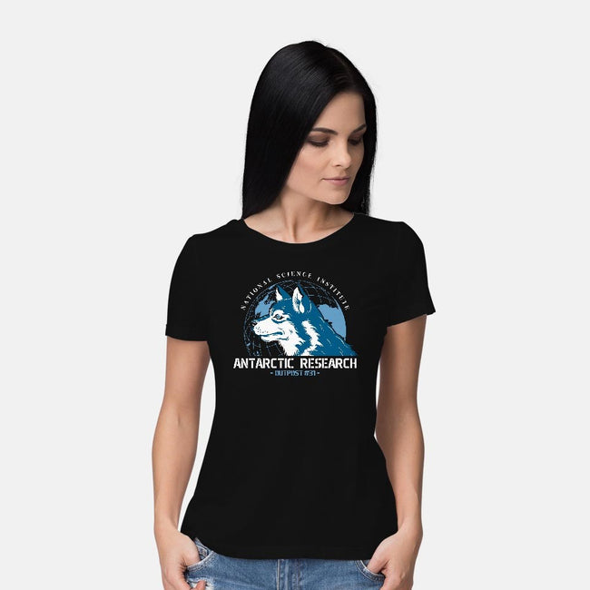 Outpost 31-womens basic tee-DinoMike