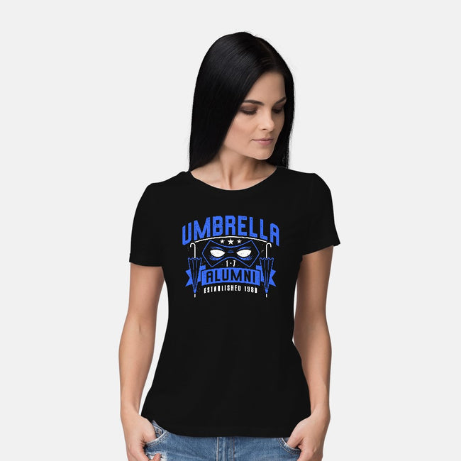 Umbrella Alumni-womens basic tee-adho1982