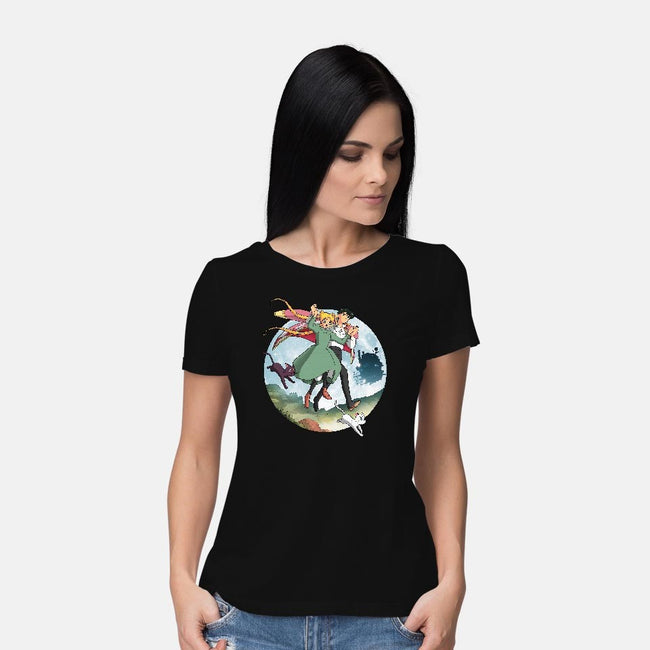 Magical Leap-womens basic tee-batang 9tees