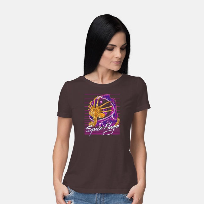 Space Hugs-womens basic tee-zerobriant