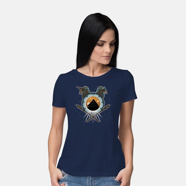 Portal to the Stars-womens basic tee-protec