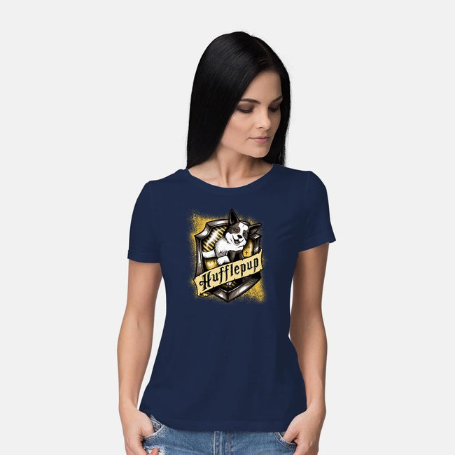 House Hufflepup-womens basic tee-DauntlessDS