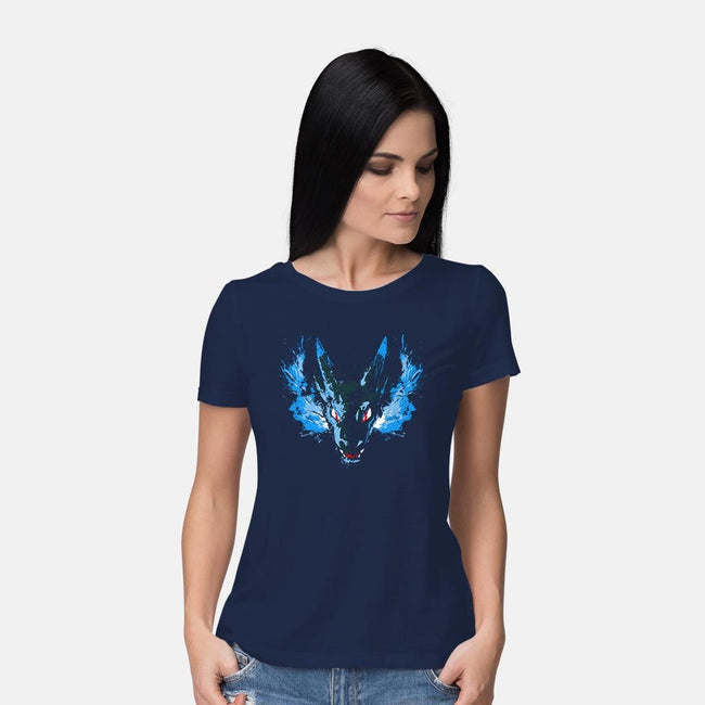 X-Dragon Fire-womens basic tee-alemaglia