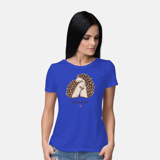 Hedge-hugs-womens basic tee-SophieCorrigan