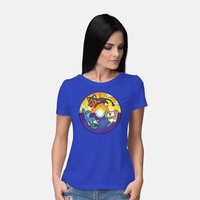 It's Starting to Look a Lot Like Paradise-womens basic tee-batang 9tees