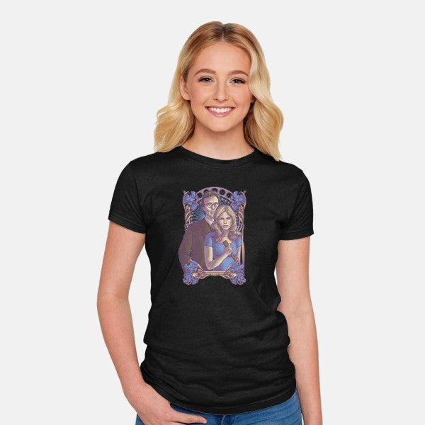 Watcher-womens fitted tee-cs3ink