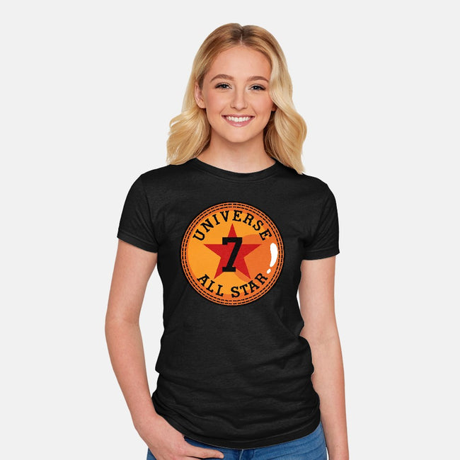 Universe 7 All Star-womens fitted tee-Boggs Nicolas