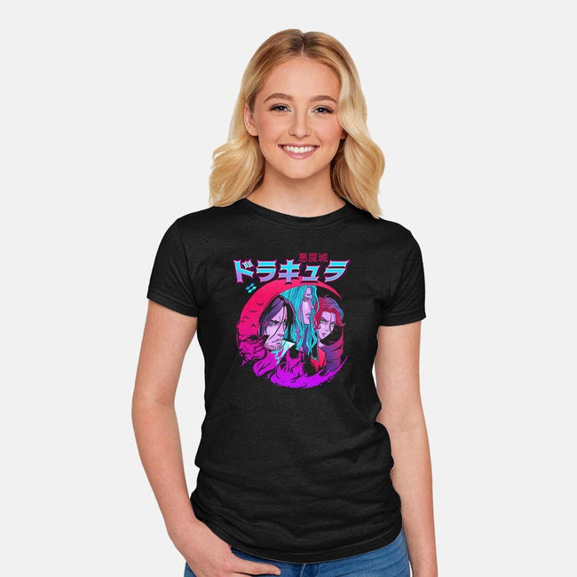 Devil's Castle-womens fitted tee-zerobriant