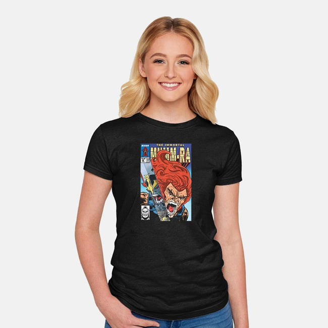 The Immortal Mumm-Ra-womens fitted tee-MarianoSan
