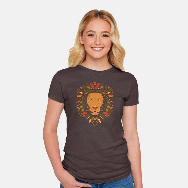 Mambo-womens fitted tee-Ashley Hay