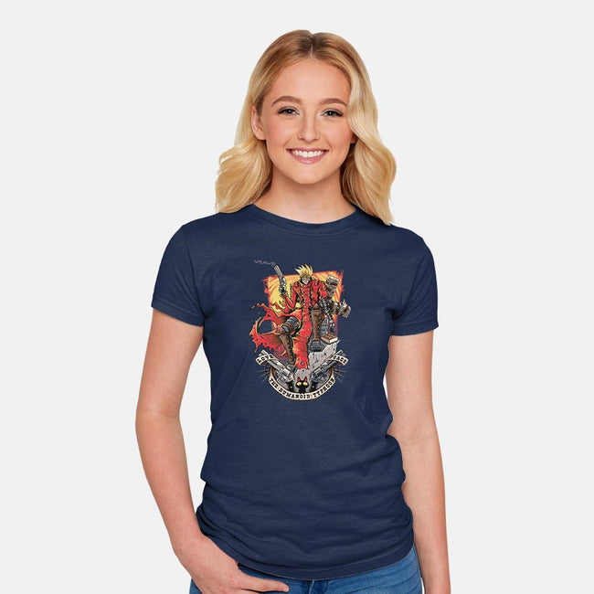 The Humanoid Typhoon-womens fitted tee-TrulyEpic