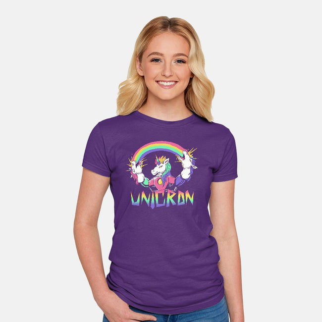 Unicron-womens fitted tee-vp021