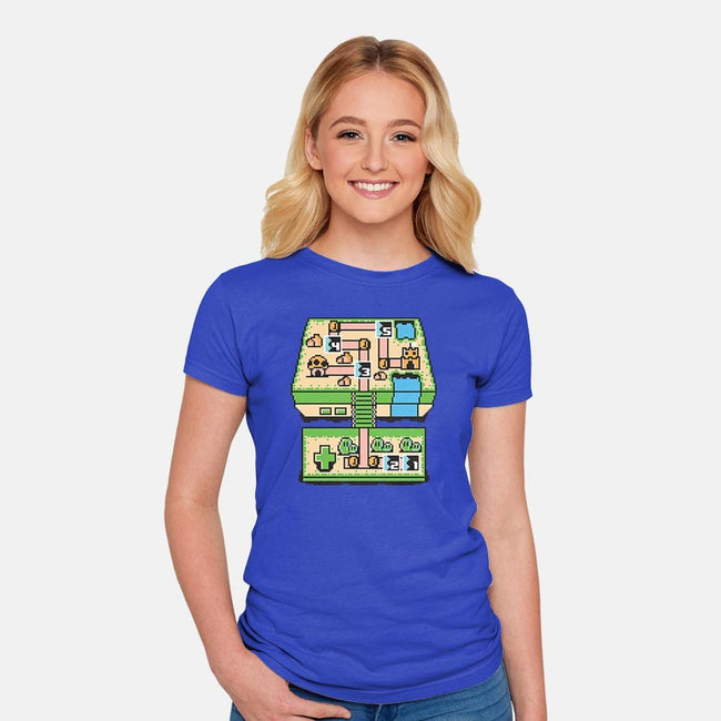 Console Bros.-womens fitted tee-jrberger