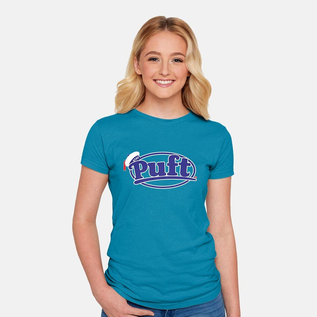 Puft-womens fitted tee-boltfromtheblue