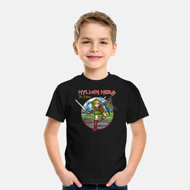 The Hero of Time-youth basic tee-paulagarcia