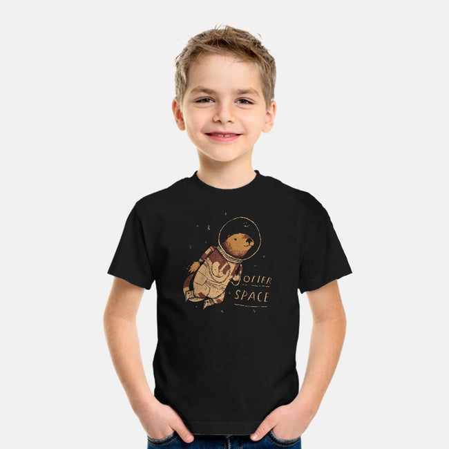 Otter Space-youth basic tee-louisros