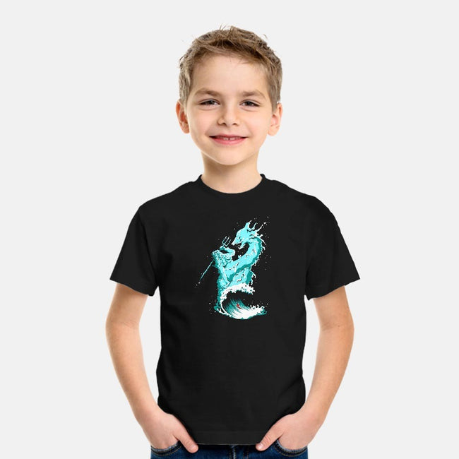 Ocean Fight-youth basic tee-flying mouse