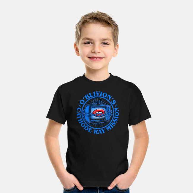 O'Blivion's Cathode Ray Mission-youth basic tee-boltfromtheblue