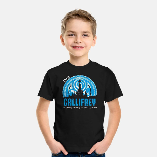 Visit Gallifrey-youth basic tee-alecxpstees