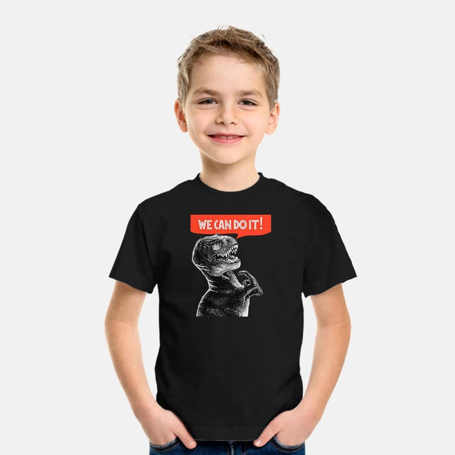 Rexy Can Do It-youth basic tee-hugohugo