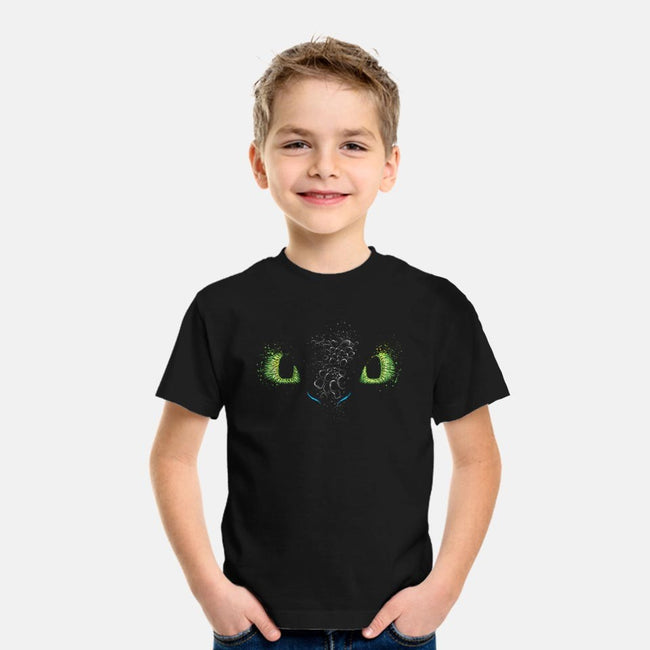 The eyes of the Dragon-youth basic tee-DrMonekers
