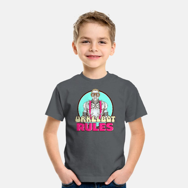 Urkel Bot-youth basic tee-Steve Dressler
