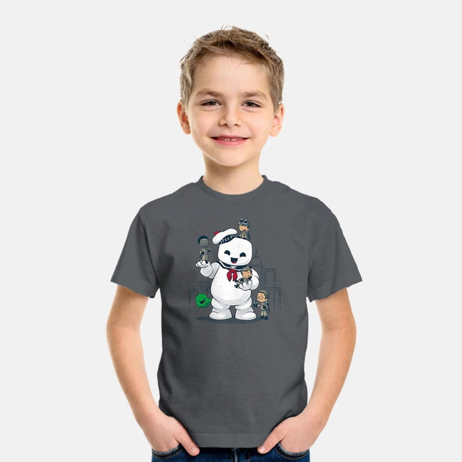 Puft Buddies-youth basic tee-DoOomcat