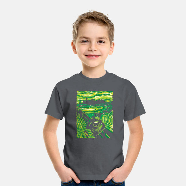 Slimer's Scream-youth basic tee-dalethesk8er