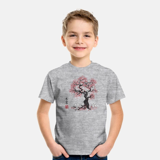Forest Spirits Sumi-e-youth basic tee-DrMonekers
