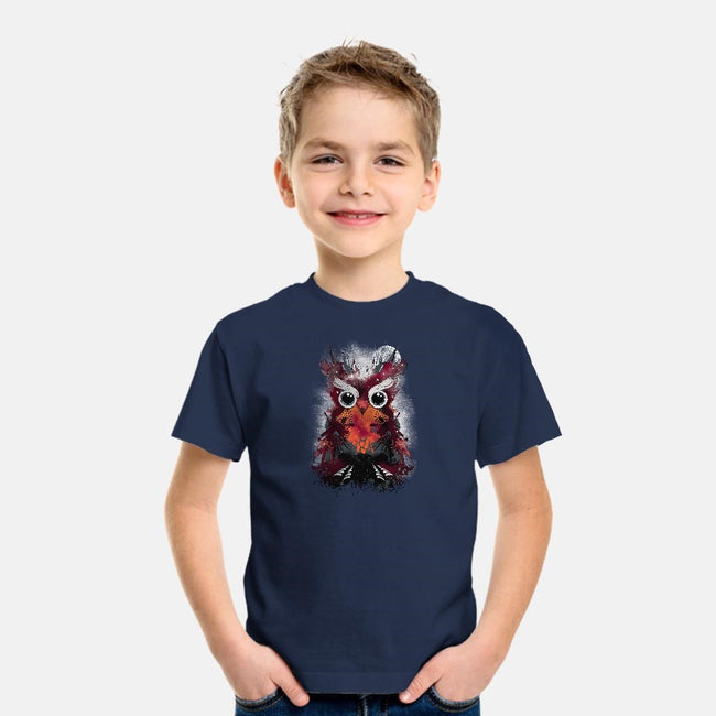 Owl Universe-youth basic tee-alnavasord