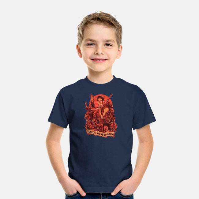 Hail to the King, Baby-youth basic tee-Moutchy