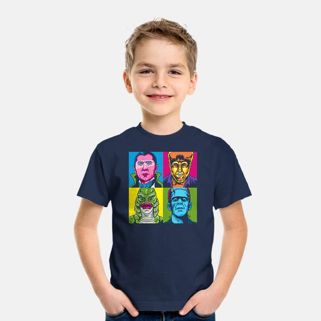 Pop Monster-youth basic tee-Andriu