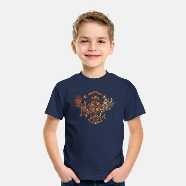 Alola Coat of Arms-youth basic tee-astrorobyn