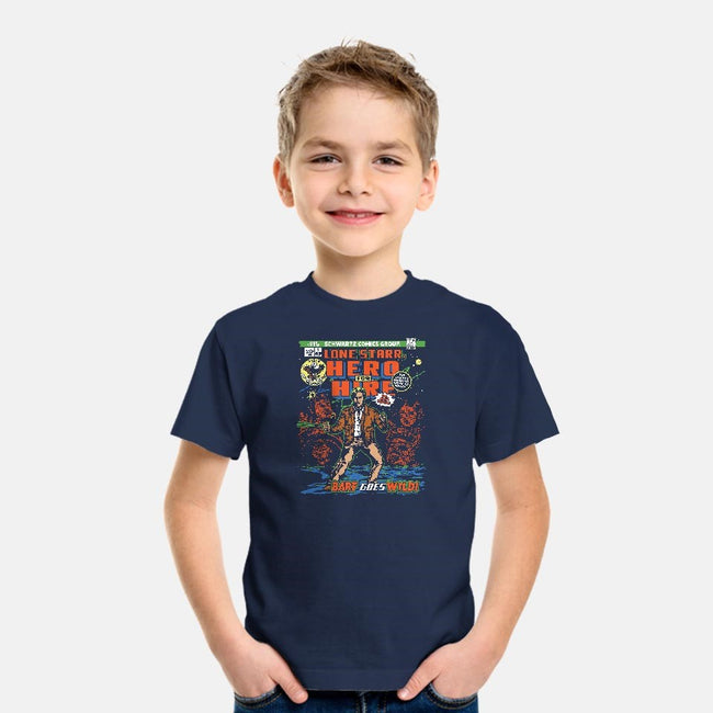 Hero 4 Hire-youth basic tee-CoD Designs