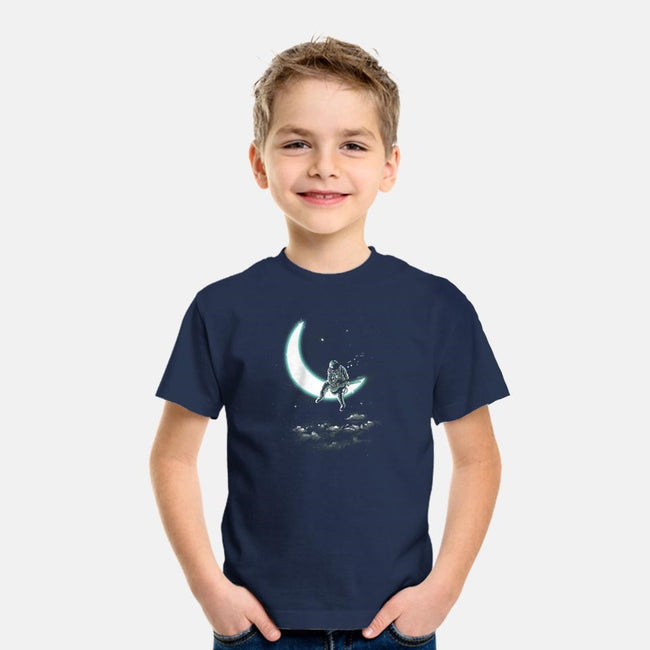 The Moon Song-youth basic tee-dandingeroz