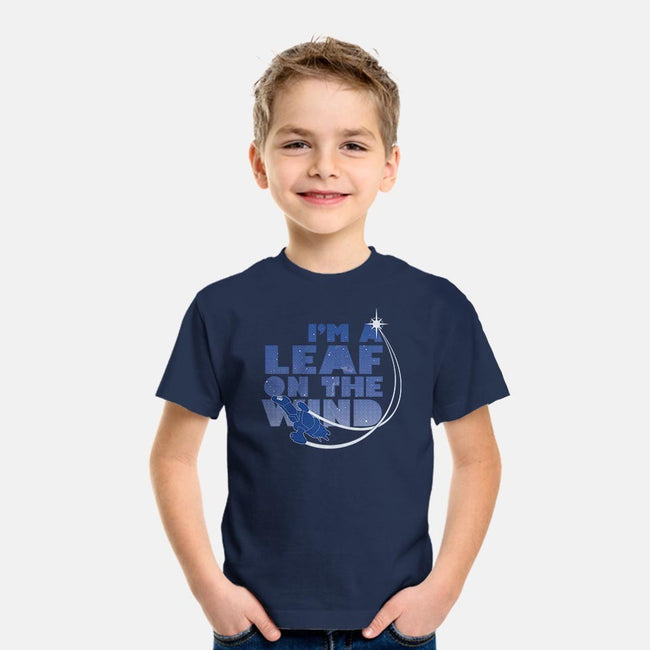 Leaf on the Wind-youth basic tee-geekchic_tees