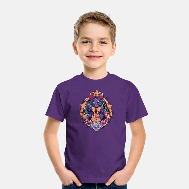 Maneki Luna-youth basic tee-MeganLara