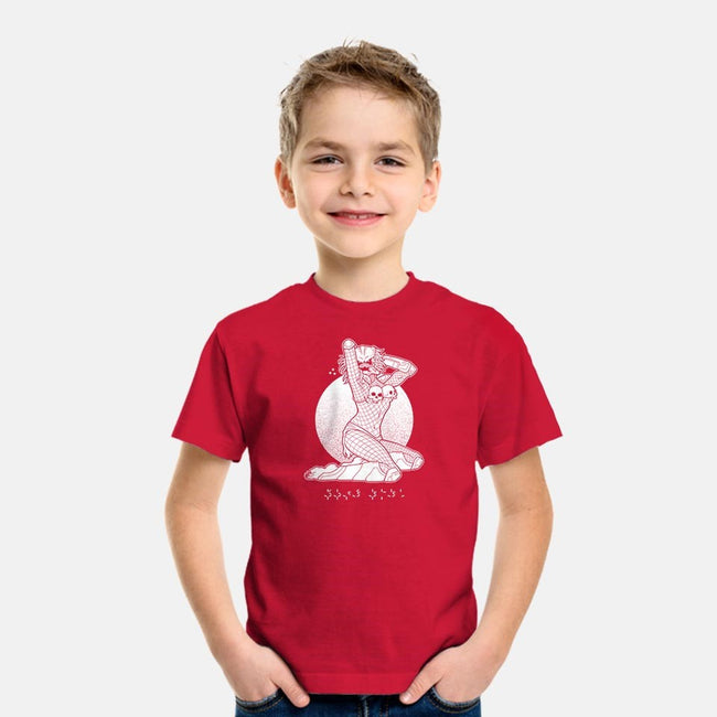 Pinup Predator-youth basic tee-tom burns