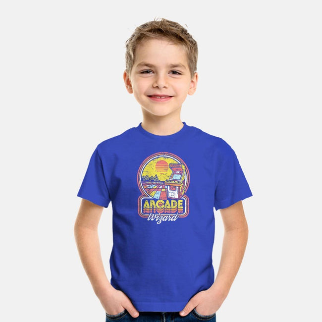 Arcade Wizardry-youth basic tee-artlahdesigns