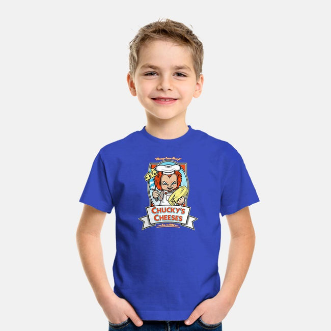 Chucky's Cheeses-youth basic tee-krusemark