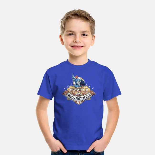 Kass' Musical Mystery Tour-youth basic tee-adho1982