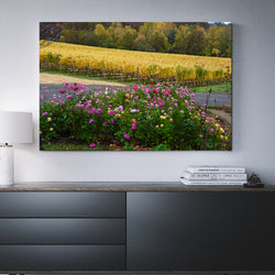 Canvas Wall Art Flowers and Vines 4 Sizes To Choose From-And He Cooks