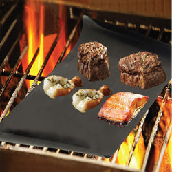 BBQ Grill Mat Set of 2-And He Cooks