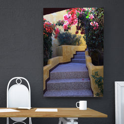 Canvas Wall Art Stairway in Mexico 4 Sizes To Choose From-And He Cooks