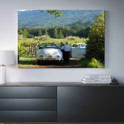 Canvas Wall Art Packards In The Vineyard 4 Sizes To Choose From-And He Cooks