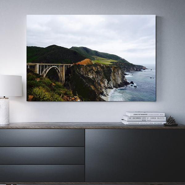 Canvas Wall Art Of Bixby Bridge 4 Sizes To Choose From-And He Cooks
