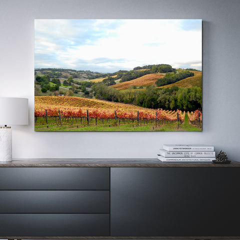 Canvas Wall Art Chalk Hill Winery 4 Sizes To Choose From-And He Cooks