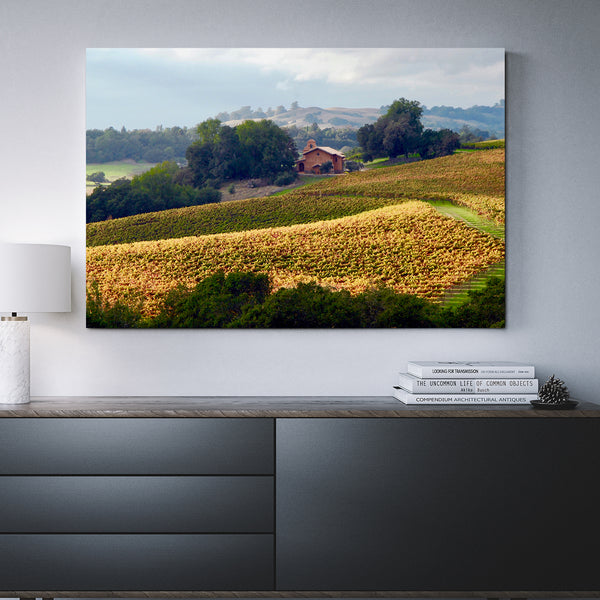 Canvas Wall Art Chapel On Chalk Hill Winery 4 Sizes To Choose From-And He Cooks
