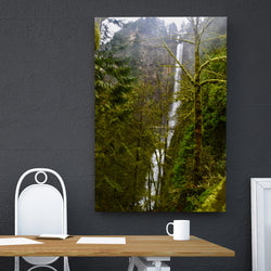 Canvas Wall Art Multnomah Falls 4 Sizes To Choose From-And He Cooks