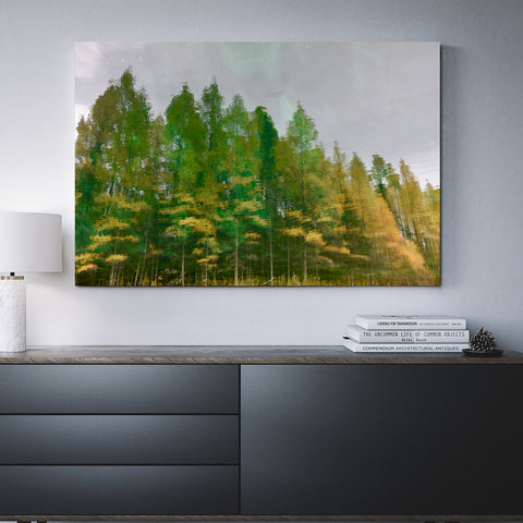 Canvas Wall Art Of Trees Reflecting 4 Sizes To Choose From-And He Cooks